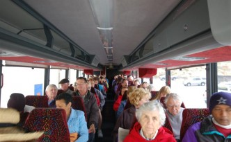 Visitors Aboard Bus (Medium)