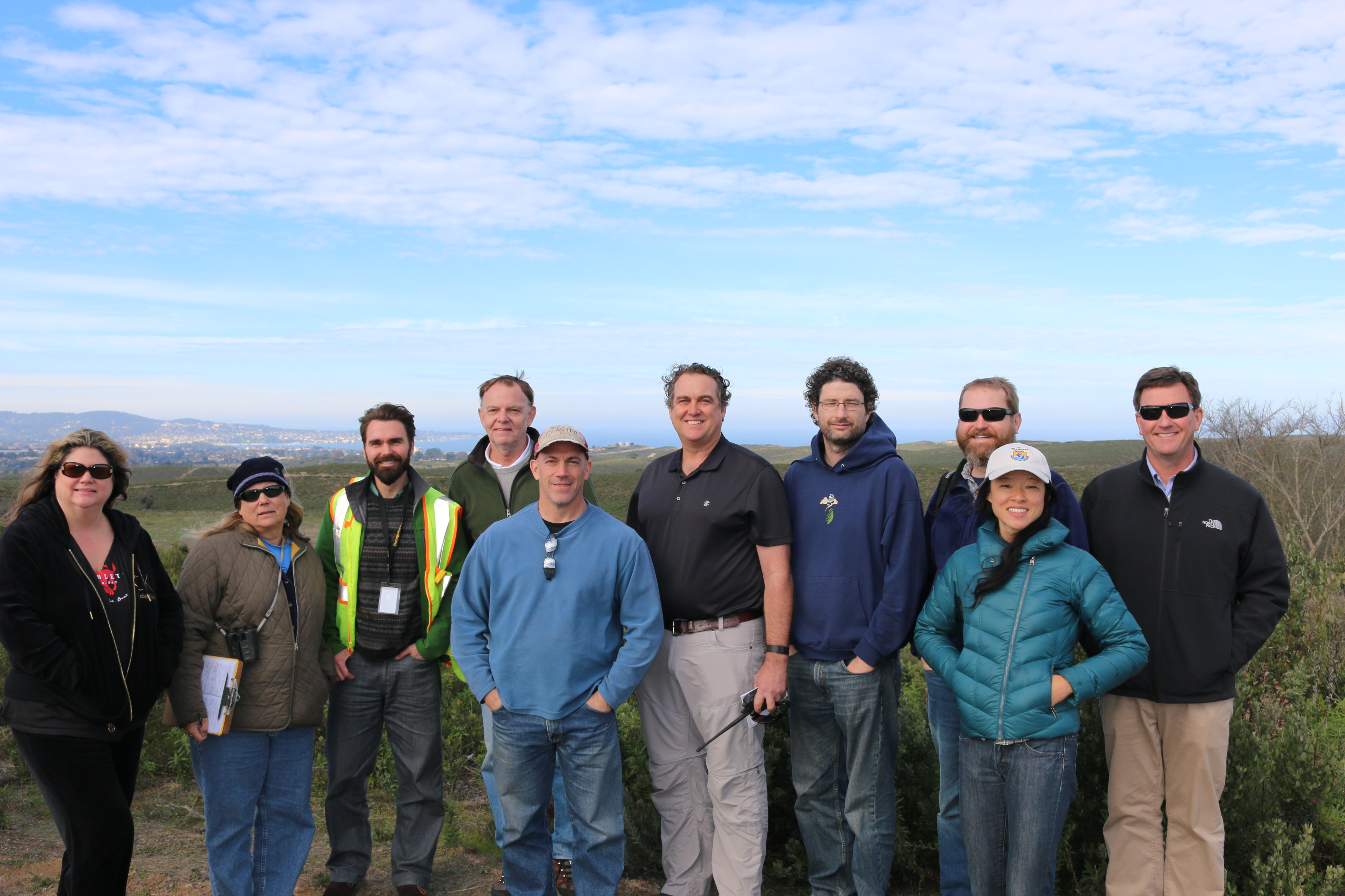 A recent Fort Ord tour with Army and Ventura Office staff of U.S. Fish and Wildlife.
